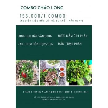 COMBO CHÁO LÒNG